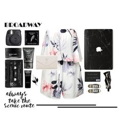 """""""Broadway"""" by kallimanis ❤ liked on Polyvore featuring Yves Saint Laurent, TokyoMilk, Koh Gen Do, Fuji, NARS Cosmetics, Floyd, Givenchy, Aesop and Converse"""