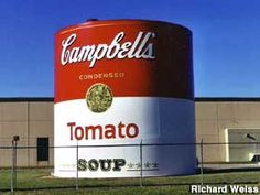 Campbell's Soup Can ~ Napoleon, Ohio