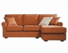 Small Sectional Sofa...the the orange