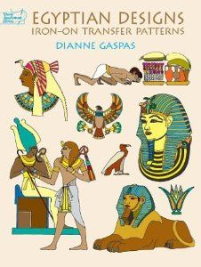 Egyptian Designs Iron-on Transfer Patterns (Dover Iron-On Transfer Patterns): Dianne Gaspas: 9780486417448: Amazon.com: Books