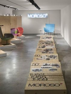 Moroso Traveling Show by Rockwell Group