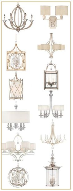 I have used this first chandelier for 3 different clients + they all love it. GORGEOUS.