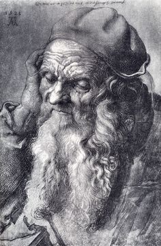 Albrecht Dürer - Head of an Old Man (1521)