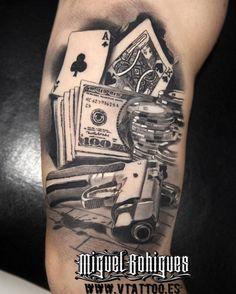 Pull the lever and discover the top 30 best slot machine tattoo designs for men. explore cool jackpot and winner inspired ink ideas. Tattoo Drawings, Body Art Tattoos, I Tattoo, Sleeve Tattoos, Cool Tattoos, Tatoos, Lock Tattoo, Omerta Tattoo, Poker Tattoo