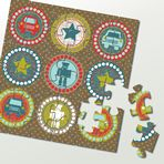 Father's Day Jigsaws #FathersDay #Party #Ideas #DIY #Printable #cards #invitations #crafts for #kids