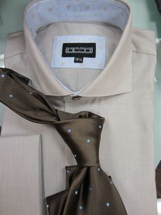 David's Master Collection shirt and tie