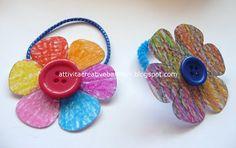 Attività Creative Per Bambini: Braccialetto-Fermacapelli per la Festa della Mamma