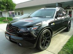 Infinity - i want to get some black rims like these for my My Dream Car, Dream Cars, Infinity Suv, Highest Price Car, Infiniti Fx35, Customize Your Car, Car Search, Car Headlights, Sweet Cars