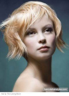 Short Funky Hairstyles for Teenager: Short Blonde Hairstyles Funky ~ Short Hairstyles Inspiration Funky Short Hair, Short Choppy Hair, Short Hair With Bangs, Short Blonde, Short Hair Cuts, Short Hair Styles, Choppy Fringe, Choppy Layers, Thick Hair