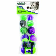 Ourcats Rolling in the Fun Multi-Pack Cat Toy * You can get additional details at the image link. (This is an affiliate link and I receive a commission for the sales) #Cats
