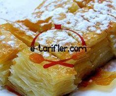 Kürt Böreği Tarifi Bakery Cakes, Iftar, Camembert Cheese, French Toast, Deserts, Food And Drink, Pudding, Dairy, Breakfast