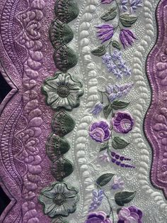 breathtaking....wish I could see the whole quilt..