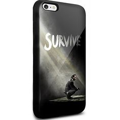 The Walking Dead Walpaper Survive for Iphone and Samsung Galaxy (iphone 6 / 6s black)
