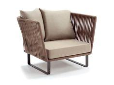 Club garden armchair Bitta Collection by KETTAL