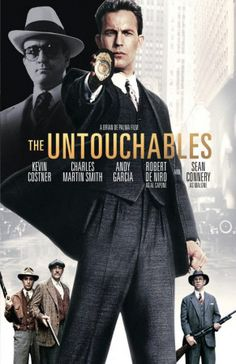 Sean Connery, Kevin Costner, Robert De Niro, Andy Garcia, and Charles Martin Smith in The Untouchables Good Movies On Netflix, Great Movies, Hd Movies, Movies To Watch, Movies Online, Movies And Tv Shows, Cinema Tv, Films Cinema, Cinema Posters