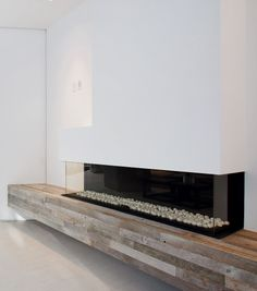 631 Mansfield / Amit Apel Design #fireplace #lareira