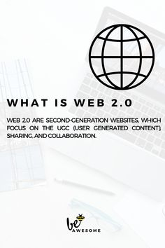 Web are second-generation websites, which focus on the UGC (User Generated Content), sharing, and collaboration. Bookmarking Sites, Web 2, View Video, Social Media Site, Collaboration, Content, Website, Google