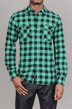 Bison Flannel L/S Shirt