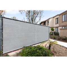 Tired of your neighbor's dog barking at your kids or your neighbor spying on you? Protect your privacy with privacy fence screens, built with care and made of 170 GSM 100% non-recycled high-density polyethylene (HDPE), reinforced stitched edges with black bindings, and durable anti-rust brass grommets. Our fence screens are proven to hold up strong through wind, sun, and rain while providing 90% visibility and 95% UV blockage. Installation is simple with zip ties and a generous amount of… Privacy Fence Screen, Fence Screening, Fence Panels, Cheap Privacy Fence, Privacy Walls, Bamboo Fence, Metal Fence, Composite Fencing, Artificial Hedges
