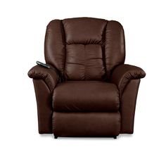 LAZBOY P10-709 Jasper Leather Power Rocker Recliner | Hope Home Furnishings and Flooring