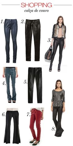 Shopping: Leather Pants