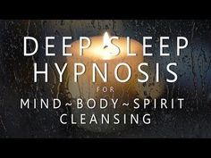 Deep Sleep Hypnosis for Mind Body Spirit Cleansing (Rain & Music for Guided Dreams Self Healing) – inner mega powers Guided Meditation For Sleep, Daily Meditation, Meditation Music, Mindfulness Meditation, Guided Relaxation, Sleep Relaxation, Meditation Youtube, Meditation For Beginners, Meditation Techniques