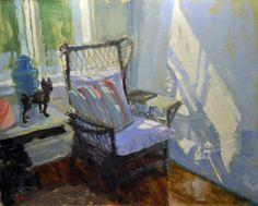 Charles Iarrobino - A Place in the Sun  16x20 Sage Creek Gallery, Santa Fe.
