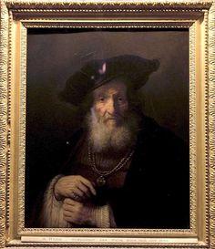 Il vecchio rabbino, Rembrandt, 1643