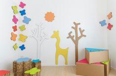 Cameretta bambini completamente eco - friendly