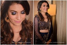 #smokeyeye #smokeyeyes #indianbride makeup #indianbride #engagementlook #makeupartist Makeup Trends, Smokey Eye, Bridal Makeup, Real Weddings, Sequin Skirt, Hair Makeup, Engagement, Bride, Fashion