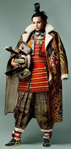 "Miranda Kerr in ""Miranda Obsession"" by Mario Testino for Vogue Japan, November 2014"