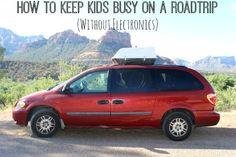 Keep Kids Busy on Roadtrips without Electronics - Right Start Blog