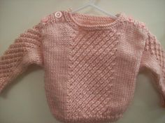 A Star Is Born Baby Sweater Pattern $5