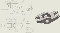 Cad Drawing, Cnc, Engineering, Drawings, Projects, Drawing Techniques, Log Projects, Blue Prints, Sketches