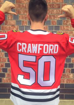 d278ac05f Corey Crawford Chicago Blackhawks Mens Red Breakaway Hockey Jersey - Take  your  Blackhawks support to