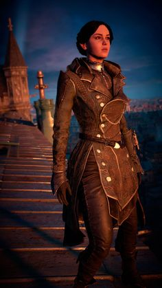 Aaaaand a new assassin is born Assassins Creed Cosplay, Assassins Creed Unity, Assassins Creed Odyssey, Assassin's Creed Wallpaper, Connor Kenway, Arte Steampunk, Warrior Girl, Comic, Costumes