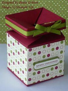 Stampinantics: Free Tutorials - The Impossible Box