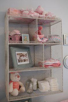Great decor/storage idea!