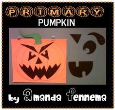 Primary Pumpkin singing time idea
