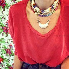 collares verano 2016 Collares Mechy Garay – Noticias de Moda Argentina