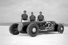 Bonneville where Land speed records where made