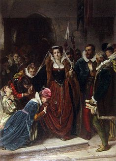 Mary, Queen of Scots, also known as Mary Stuart or Mary I of Scotland, was queen regnant of Scotland from 14 December 1542 to 24 July 1567 and queen consort of France from 10 July 1559 to 5 December 1560.