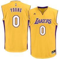Mitchell /& Ness M.Johnson #32 LA Lakers Canotta