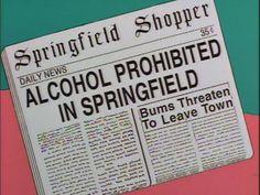 teaching Prohibition through the Simpsons w