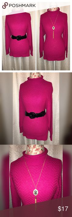 NWOT AMI KNITS VINTAGE BURGUNDY SWEATER SZ 8 This beautiful vintage piece is made by Amy Minutes it is a burgundy sweater and a size 8 the vintage pieces do tend to run large so it is 21 inches across the chest 19 inches across the bottom and 28 inches from the shoulders and in excellent condition!! ami Knits Sweaters Cowl & Turtlenecks