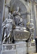 Pope Leo XI - Wikipedia, the free encyclopedia Pope Leo, Divinity School, St Peters Basilica, Vatican, Rome, Statue, Art, Baroque, Art Background