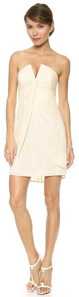 Zimmermann Silk V Dress on shopstyle.com