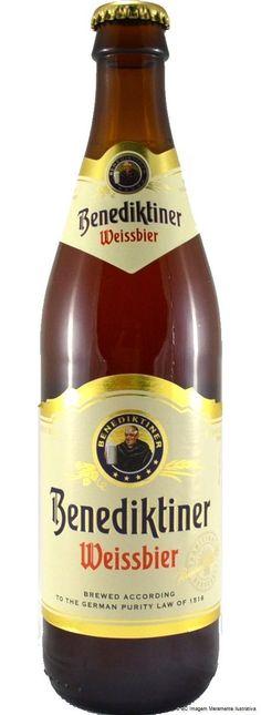 Benediktiner Weissbier 500ml