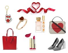 """""""Valentine's presents"""" by polandieu on Polyvore featuring moda, Kate Spade, Milani, Tory Burch i Karl Lagerfeld"""
