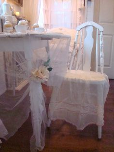 Shabby Chic Tiny Retreat: Tea for Two in my sweet retreat